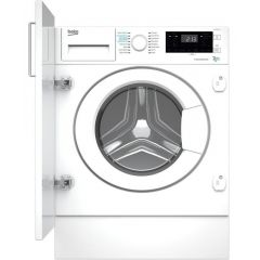 Beko WDIK752121F 7kg/5kg 1200 Spin Built In Washer Dryer - White - B Energy Rated