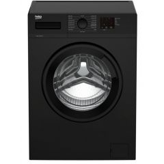 Beko WTK72042B 7Kg 1200 Spin Washing Machine With Quick Programme - E Energy Rated - Black