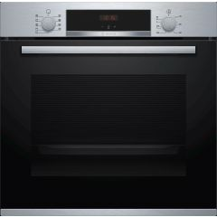 Bosch HBS534BS0B Built In Electric Single Oven With 3D Hot Air - Stainless Steel