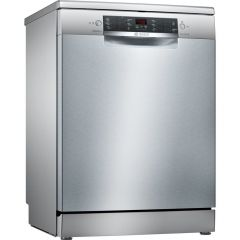 Bosch SMS46II01G Freestanding Dishwasher - E Energy Rated - Silver