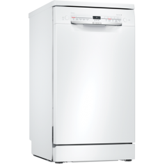 Bosch SPS2IKW04G Slimline Dishwasher - White - A++ Energy Rated