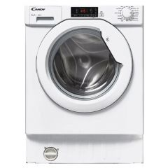 Candy CBWM816D Integrated 8kg 1600 Spin Washing Machine - White - A+++ Energy Rated