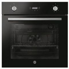 Hoover HOCT3058BI Integrated Electric Single Oven - Black/Stainless Steel - A+ Energy Rated