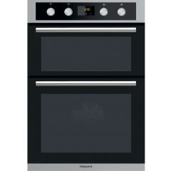 Hotpoint DD2844CIX Built In Double Oven - Stainless Steel