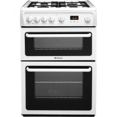 Whirlpool HAG60P 60Cm Freestanding Gas Cooker With Double Oven