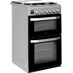 Hotpoint HD5G00CCSS/UK Double Oven Gas Cooker