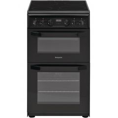 Hotpoint HD5V93CCB/UK Freestanding Double Oven Cooker