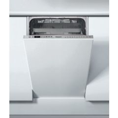 Hotpoint HSIO3T223WCE Integrated Slimline Dishwasher - 10 Place Settings - A++ Energy Rated