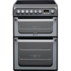 Hotpoint HUE61G 60Cm Electric Cooker