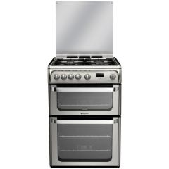 Hotpoint HUG61X Hotpoint Gas Double Oven 60Cm