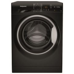 Hotpoint NSWF742UBSUKN 7Kg 1400 Spin Washing Machine - A+++ Energy Rating - Black
