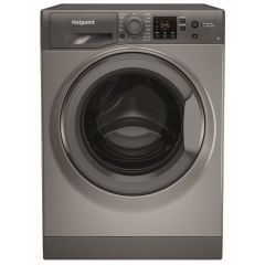 Hotpoint NSWF742UGGUKN/N 7Kg 1400 Spin Washing Machine - A+++ Energy Rating - Graphite