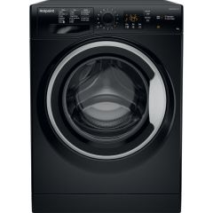 Hotpoint NSWM963CBSUKN 9Kg 1600 Spin Washing Machine - A+++ Energy Rated - Black