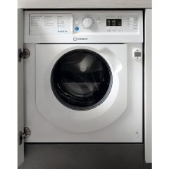 Indesit BIWMIL71252 7Kg 1200 Spin Built In Washing Machine - A++ Energy Rated