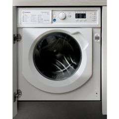 Indesit BIWMIL91484 9Kg 1400 Spin Integrated Washing Machine - A+++ Energy Rated