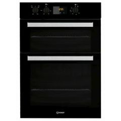 Indesit IDD6340BL Double Oven