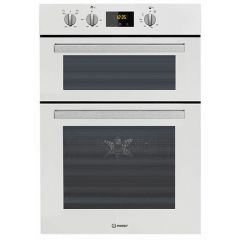 Indesit IDD6340WH Built In Electric Double Oven