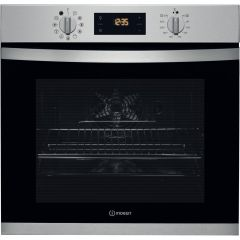 Indesit IFW3841PIX Built In Electric Single Oven - Stainless Steel