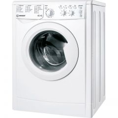 Indesit IWDC65125UKN 6Kg/5Kg 1200 Spin Washer Dryer - White - B Energy Rated