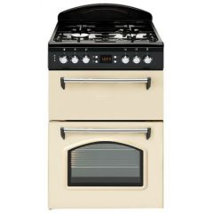 Leisure - CLA60GAC -  Classic Design -  60cm Width Gas Cooker with Double Oven - Cream
