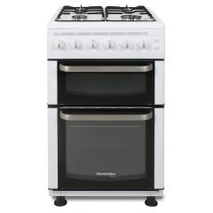 Montpellier TCG50W 50 Cm Twin Cavity Gas Cooker