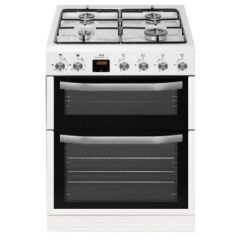 New World NWMID63GW 60Cm Twin Cavity Gas Cooker