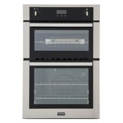 Stoves 444444842 Bi900g Built In Gas Double Oven - Stainless Steel